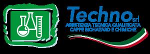 Techno assistenza tecnica qualificata cappe biohazard e chimiche - Logo Techno